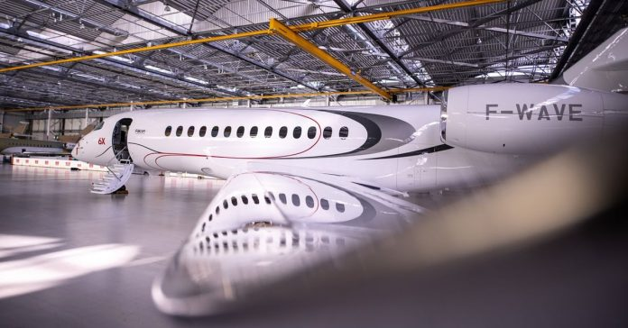 Dassault Rolls Out Its New Falcon 6X