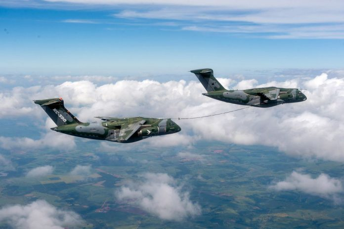 Embraer Makes Successful Aerial Refueling with KC-390 Millenium