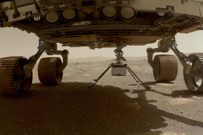 Ingenuity Prepares for First Flight on Mars