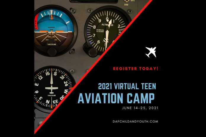 USAF Youth Programs Applications Close Soon for Virtual Aviation Camp