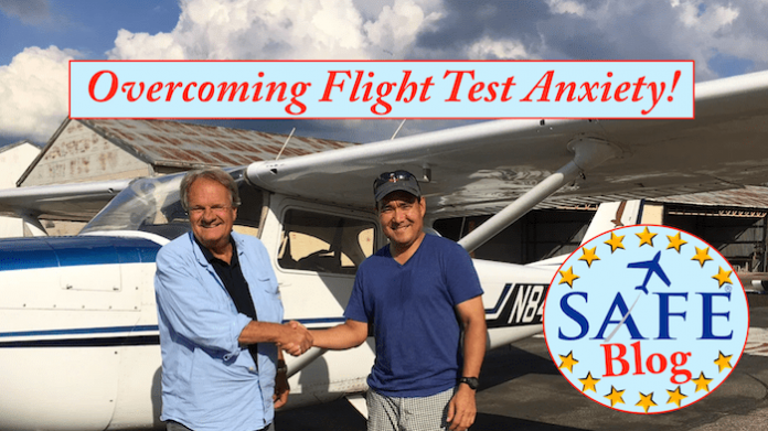 Overcoming Flight Test Anxiety! - Aviation Ideas and Discussion!